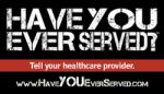 Have you ever served Logo