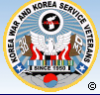 Korea War and Korea Service Veterans Logo
